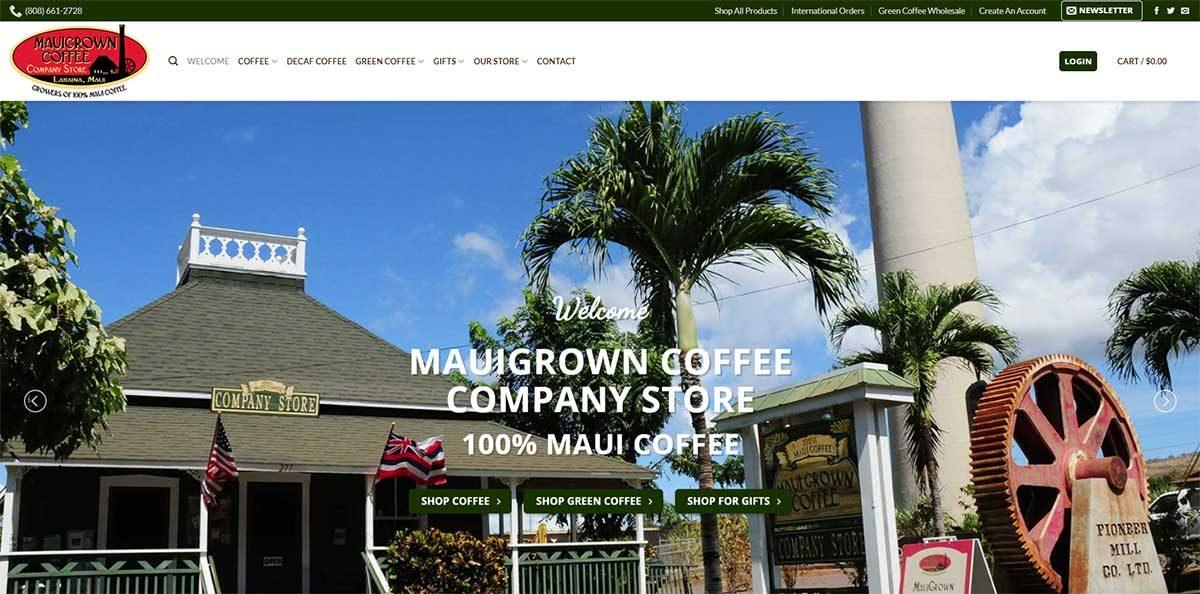 MauiGrown Coffe Company Store